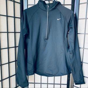 Nike element thermal black hoodie sz m